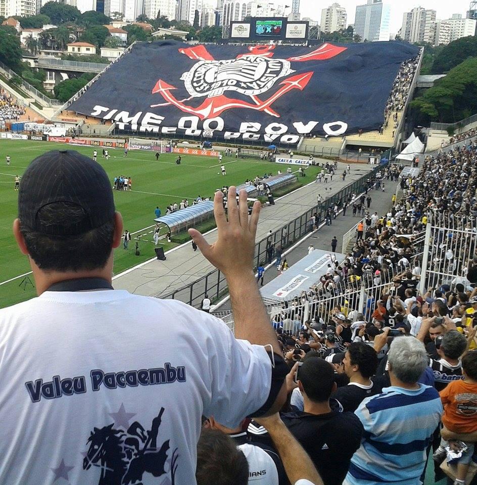 Hoje tem @Corinthians no #Paca  Chega lo...