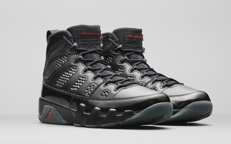 "Air Jordan 9 ""Bred"" Color  Black Anthracite-University Red Style Code   302370-014 Release Date  March 10 7977673d9"