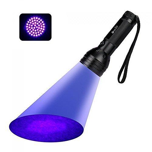 Torcia UV, OxyLED Lampada UV 51 Leds, UV...