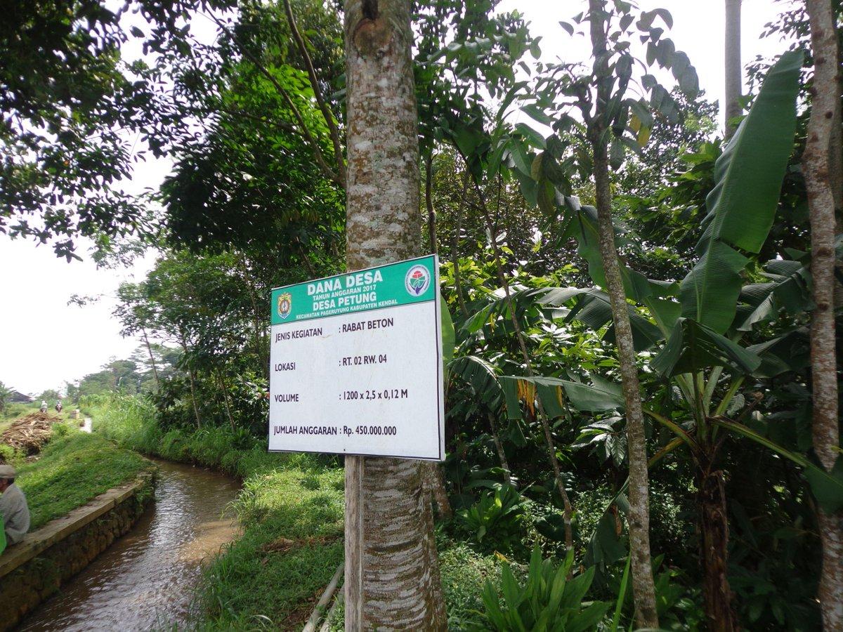 Dana yang dihabiskan untuk pembangunan jalan