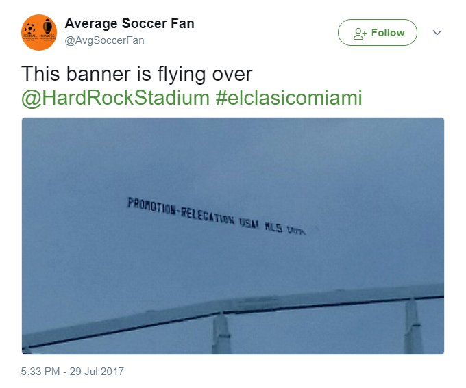Maybe it&#39;ll take another #WorldCup qualification failure before the American soccer public wakes up.  #USMNT #ProRelforUSA<br>http://pic.twitter.com/rsxZ08YBhS
