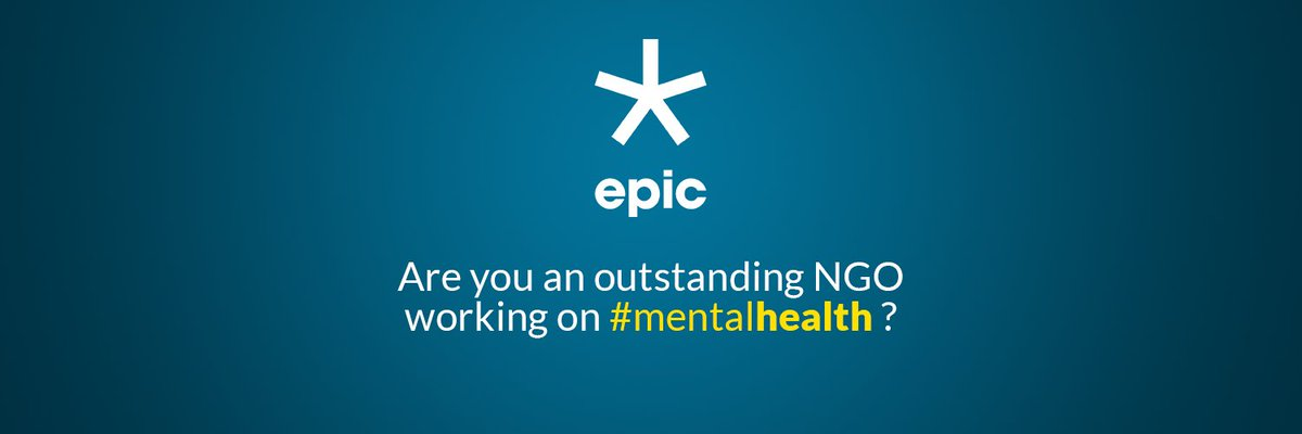 Epic Foundation On Twitter Social Organizations Focused On Mental