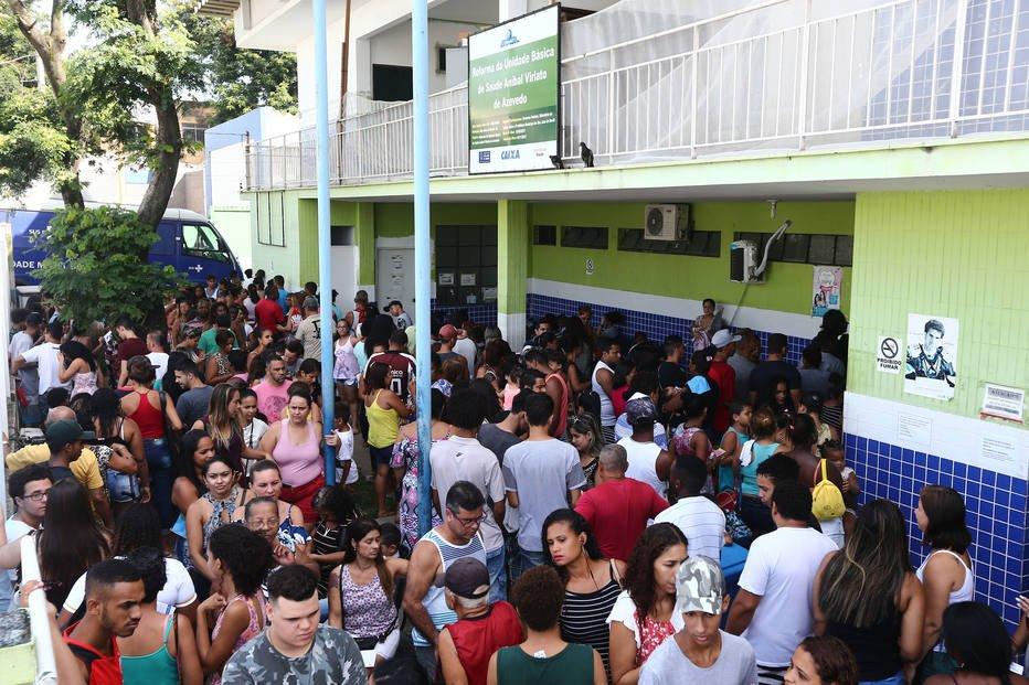 Espera em posto público para vacina da febre amarela chega a 9 horas https://t.co/GtG312GAmq