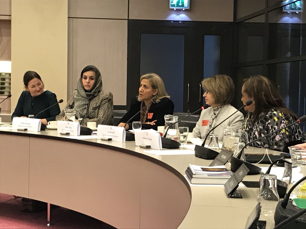 test Twitter Media - Vanochtend ontvangen we moedige Arabische vrouwen uit Syrië, Irak, Libië en Jemen die zich teweer stellen tegen straffeloosheid extremistische- Islamitische terreur, zoals die van IS. Bestrijding ervan is een prioriteit in ons regeerakkoord en komt vandaag aan de orde in VNVR https://t.co/ErHEo82XPV