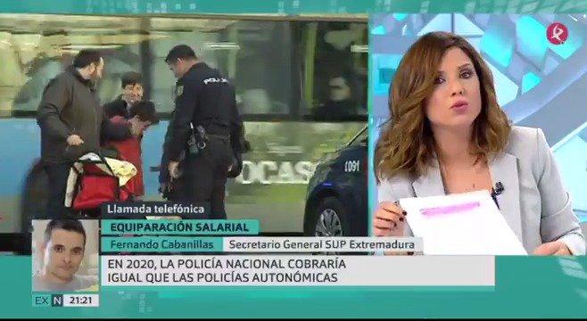 Los sindicatos de Policía y Guardia Civil se muestran receptivos ante la propuesta del Ministerio del Interior sobre la #EquiparacionYa. Hemos entrevistado al Secretario General del @Sup_Policia en #Extremadura. #ElAnálisis #EXN https://t.co/FEEdPdRnXp