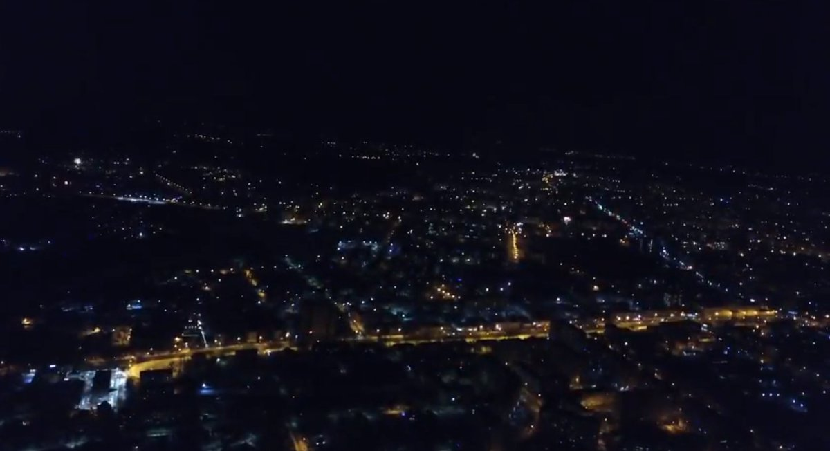 фото смоленска ночью с высоты динар