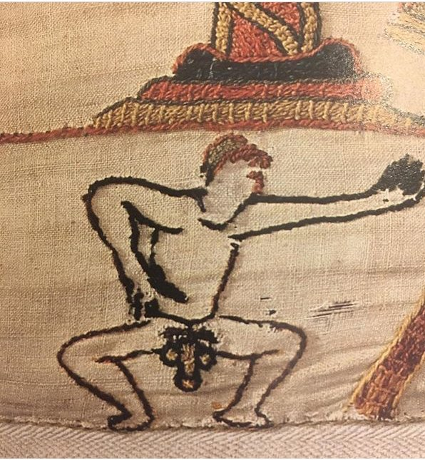 RT @greg_jenner: A reminder that the #BayeuxTapestry features this guy https://t.co/L1Oh0lU8Ag