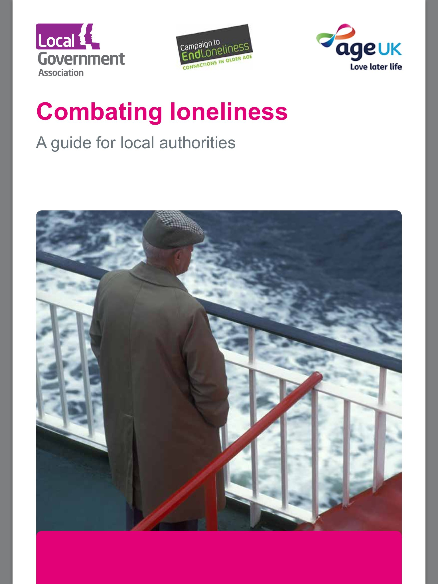 """Lgacomms on twitter: """"together with @age_uk and @endlonelinessuk."""
