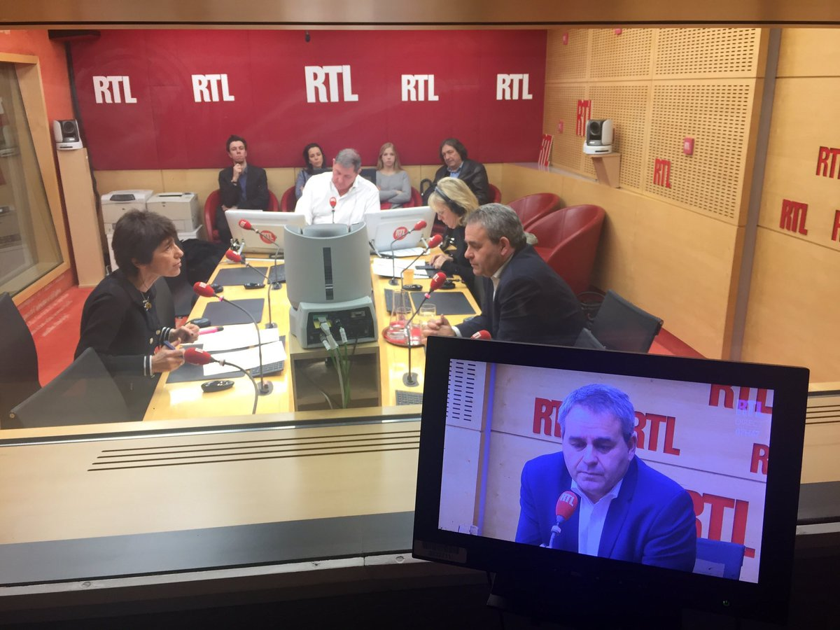 Xavier Bertrand's photo on #RTLMatin