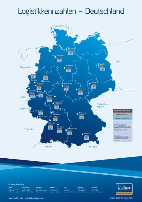 Logistikkennzahlen 2018<br>Auf unserer Info-Karte entdecken Sie aktuelle Durchschnitts- und Spitzenmieten sowie Grundstückspreise der deutschen #Logistik-Hotspots im Überblick. #logistics #Infographic  t.co/KycEL7XZHt