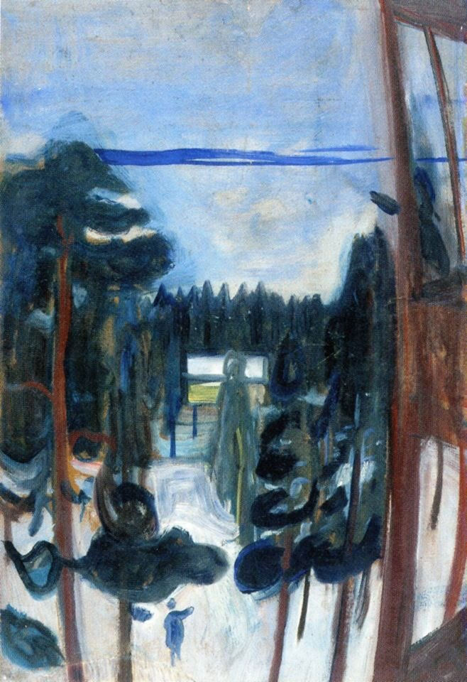 #BuenosDías   (🎨 Edvard Munch) https://t...