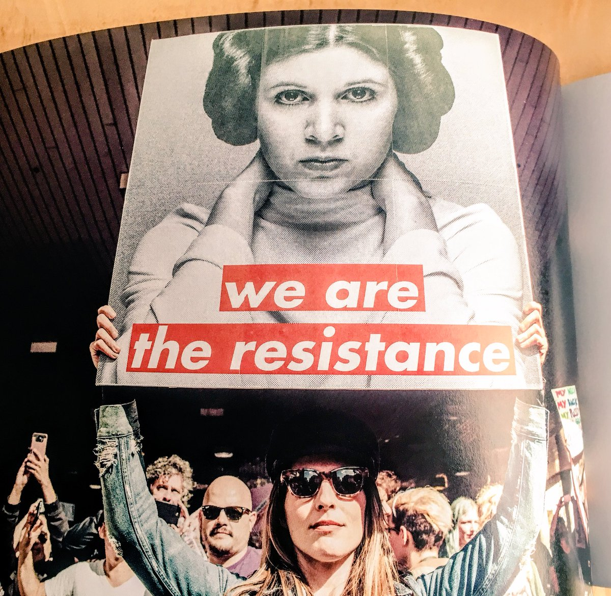 #WeAreTheResistance we march on Saturday...
