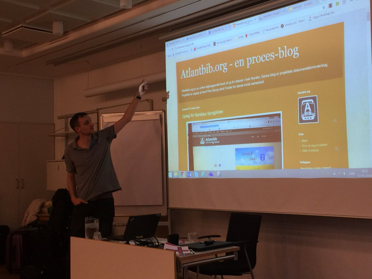 test Twitter Media - Stefan tells about @atlantbib ebooks where you can read books in Nordic languages on https://t.co/1EQ8qw0sVm #Nordplus #norden #menntaspjall https://t.co/1I66fZPtMb