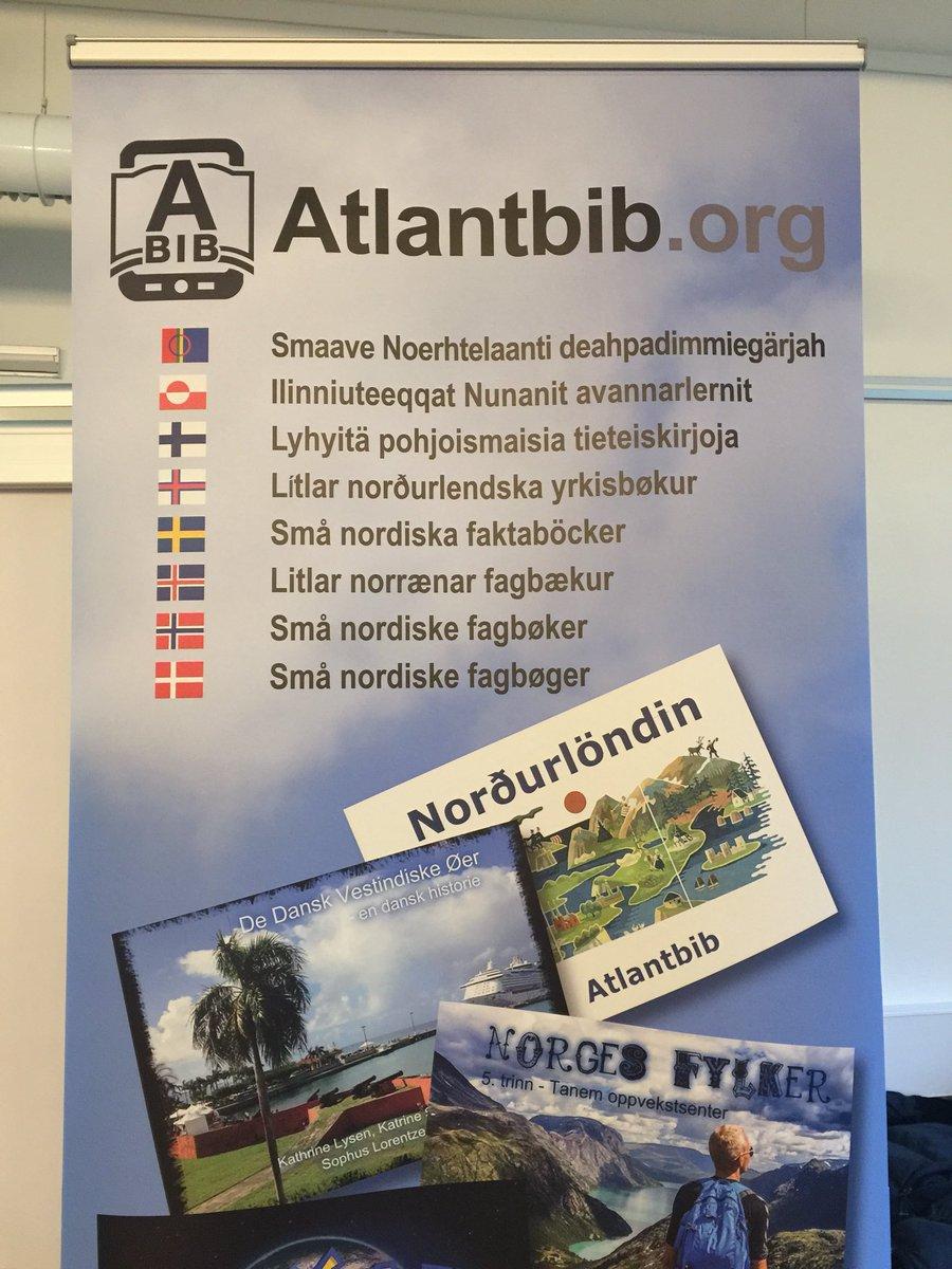 test Twitter Media - Komin á fund um Nordplus verkefnið @atlantbib með @JonsdottirErna sem eru smábækur á netinu á Norðurlandamálunum #norden #menntaspjall https://t.co/h05MdMl3qp