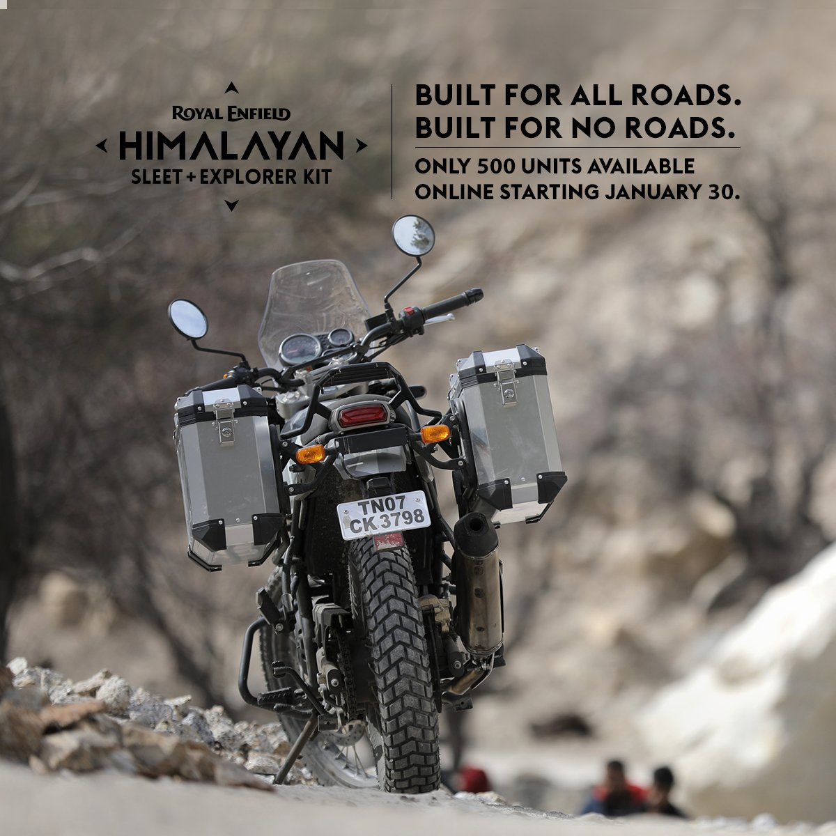 Royal Enfield On Twitter Built For All Roads Built For No Roads