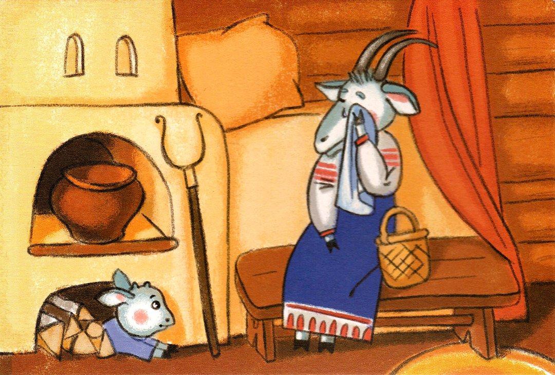 творчеству анимационные картинки волк и семеро козлят готовые изделия нужно