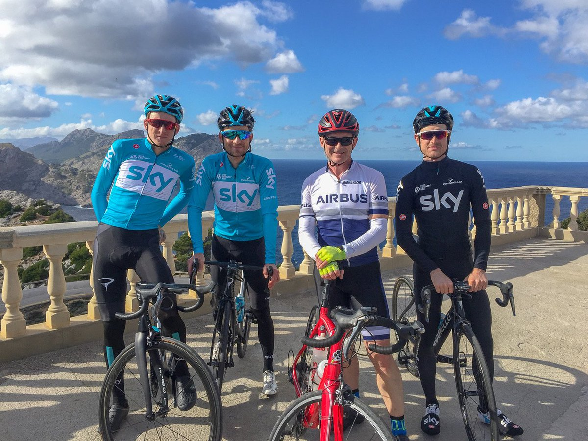 Team Sky On Twitter We Love Bumping Into Fans When Were Out
