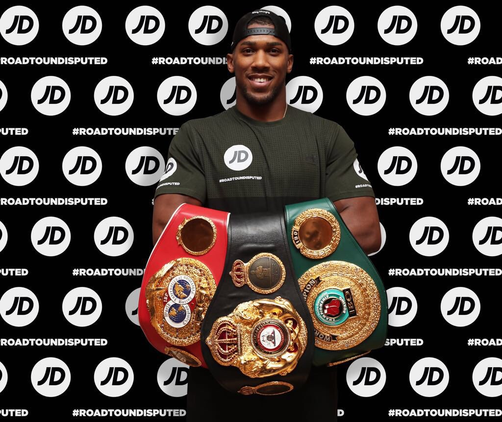 Top 10 Unseen Pictures Of Anthony Joshua