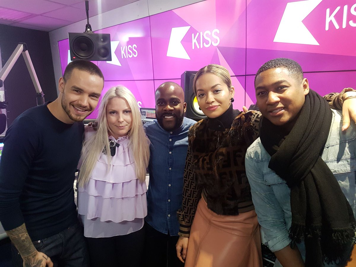 Thanks for having me and @ritaora on @KISSFMUK this morning to chat about #ForYou