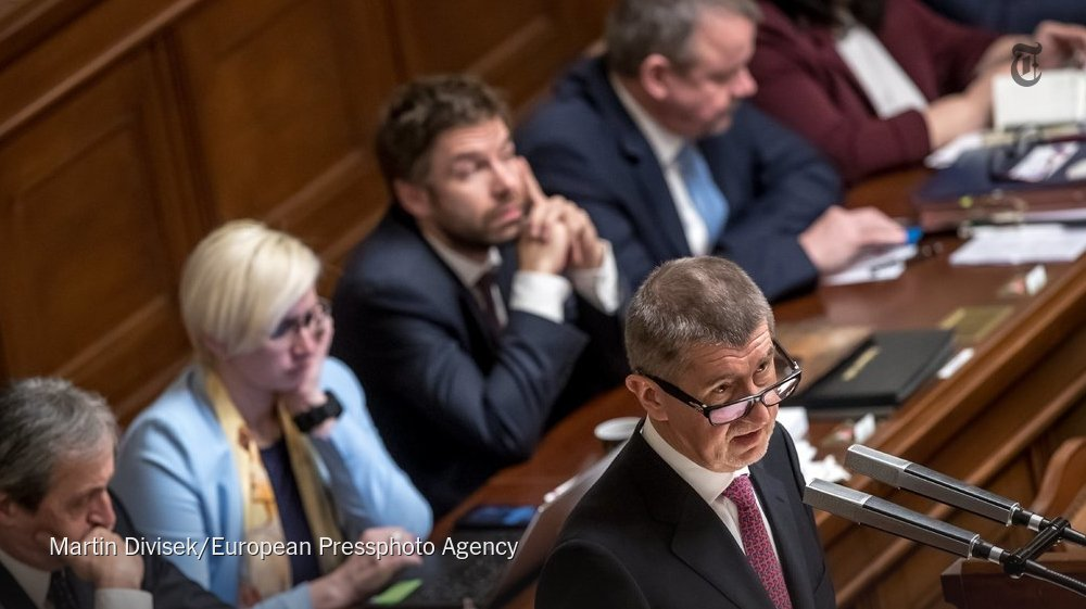 RT @nytimesworld: Czech Republic faces political turmoil after no-confidence vote https://t.co/y8rR6PI6il https://t.co/2wmAP6tyJt