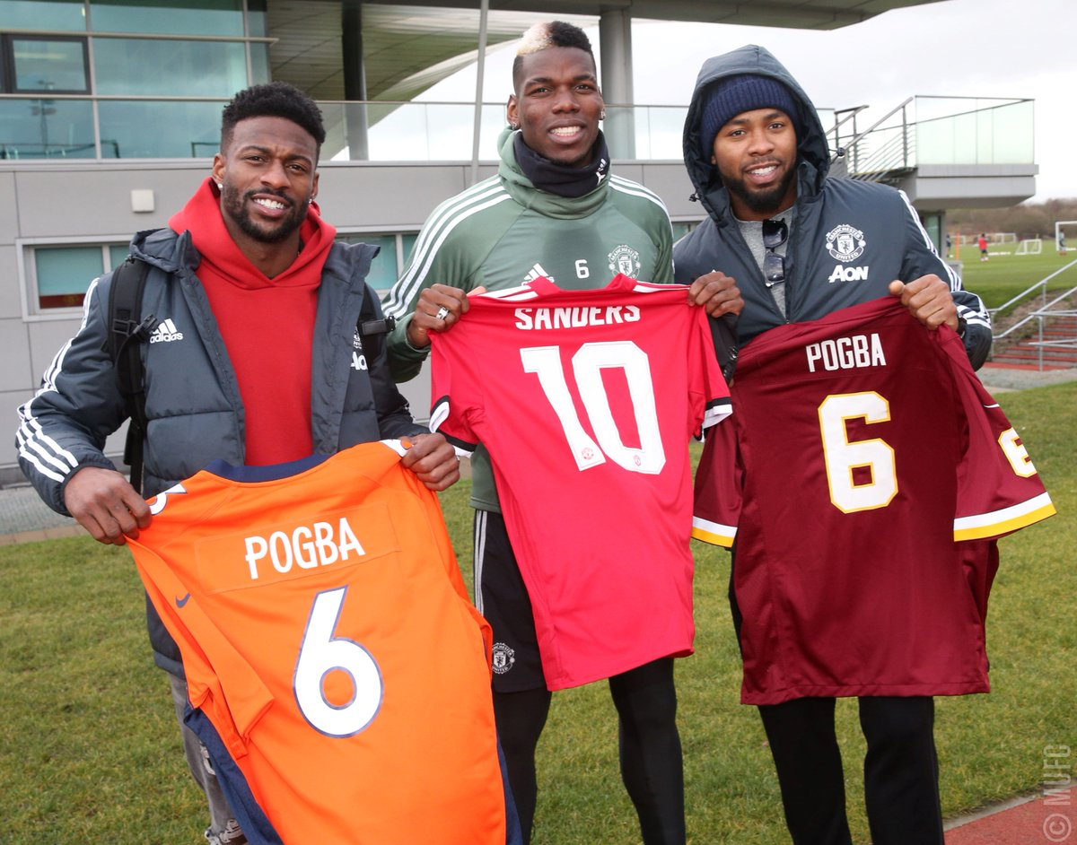 🏈 @NFL stars @ESanders_10 and @J_No24 pa...