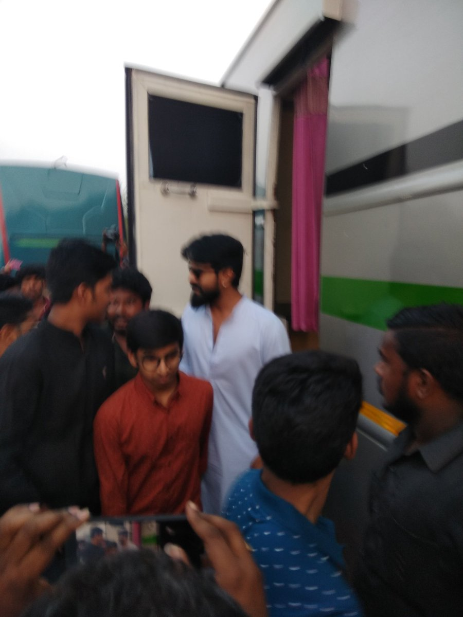 Today at RAJAHMUNDRY shoot location http...