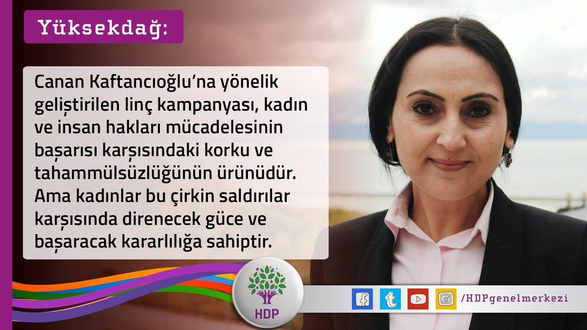 Canan Kaftancıoğlu: Yüksekdağ ile ilgili görsel sonucu