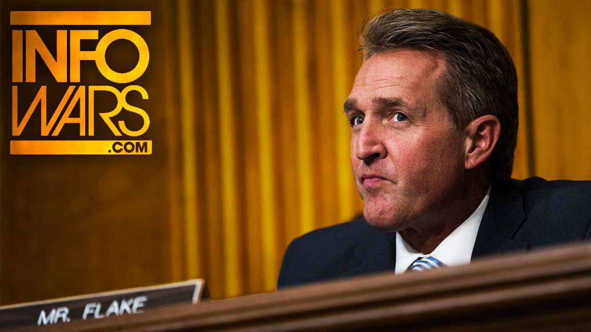 VIDEO: Jeff Flake Compares Trump To Stal...
