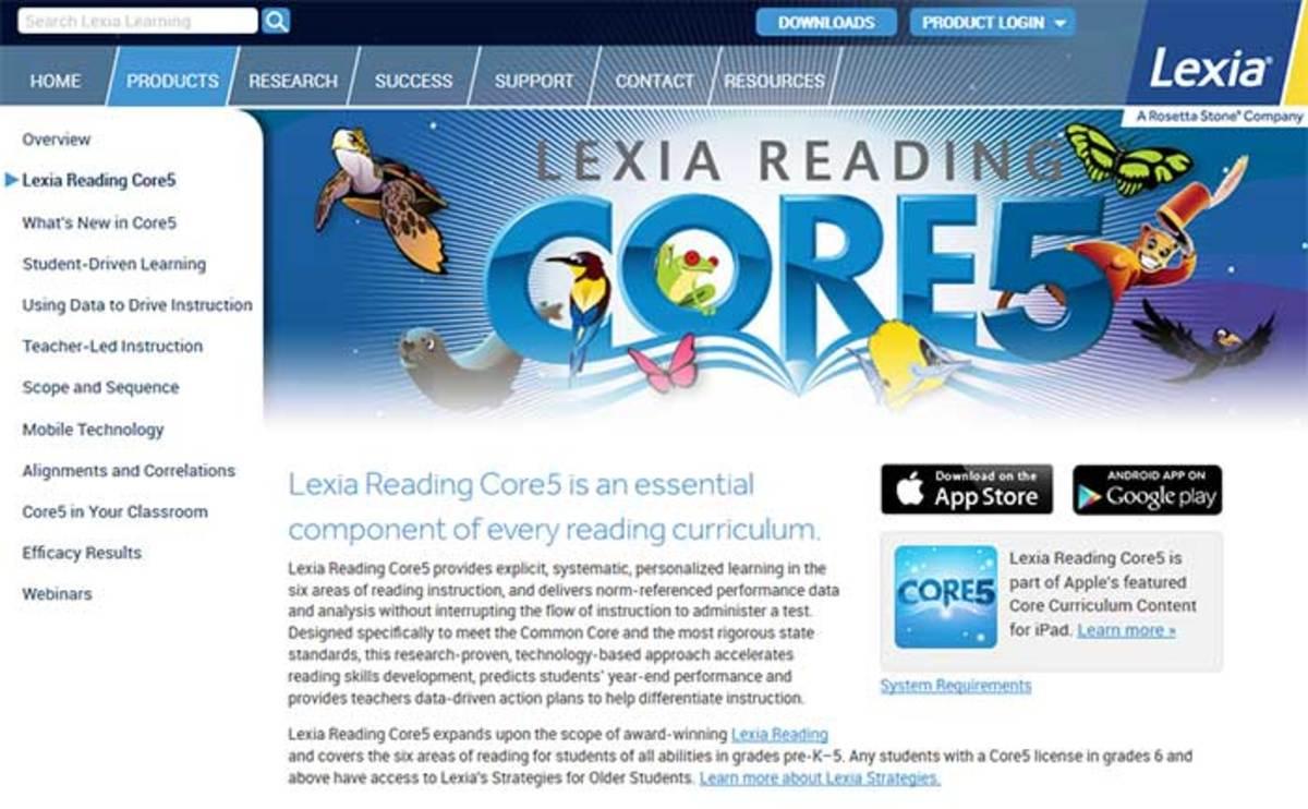 Lexia online