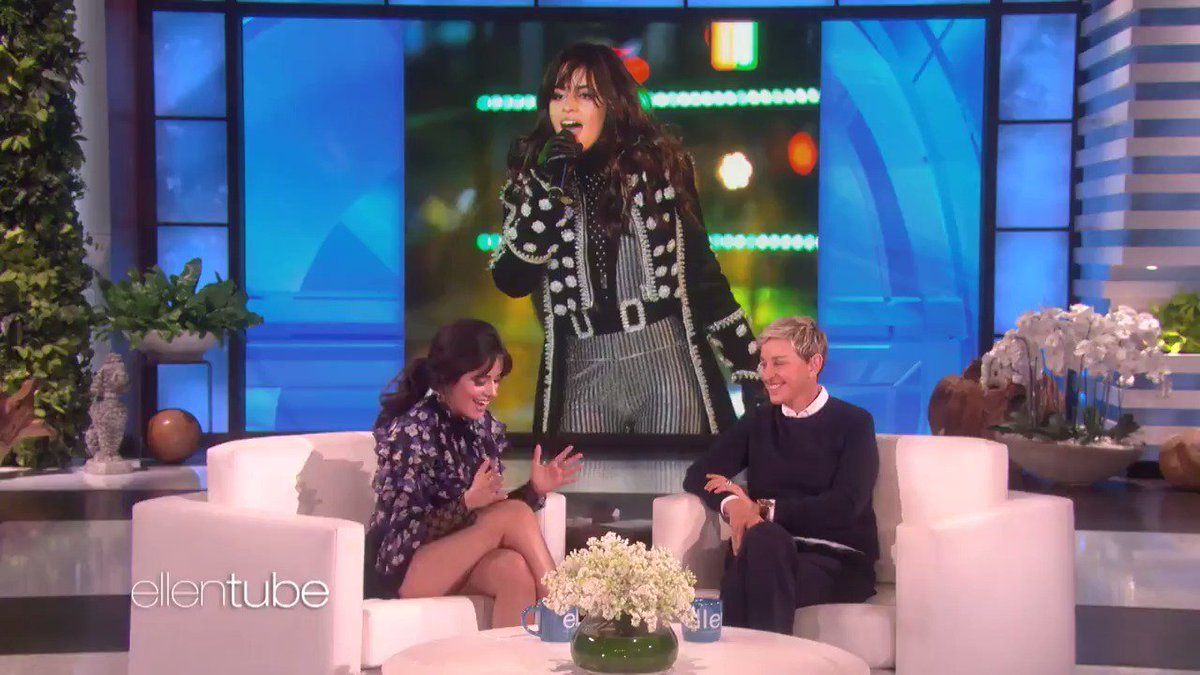 Can you guess what @Camila_Cabello told me she put in her pants? You're getting warmer. https://t.co/Mqf5znhiLj