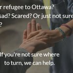 Image for the Tweet beginning: Immigrant or refugee in #Ottawa?