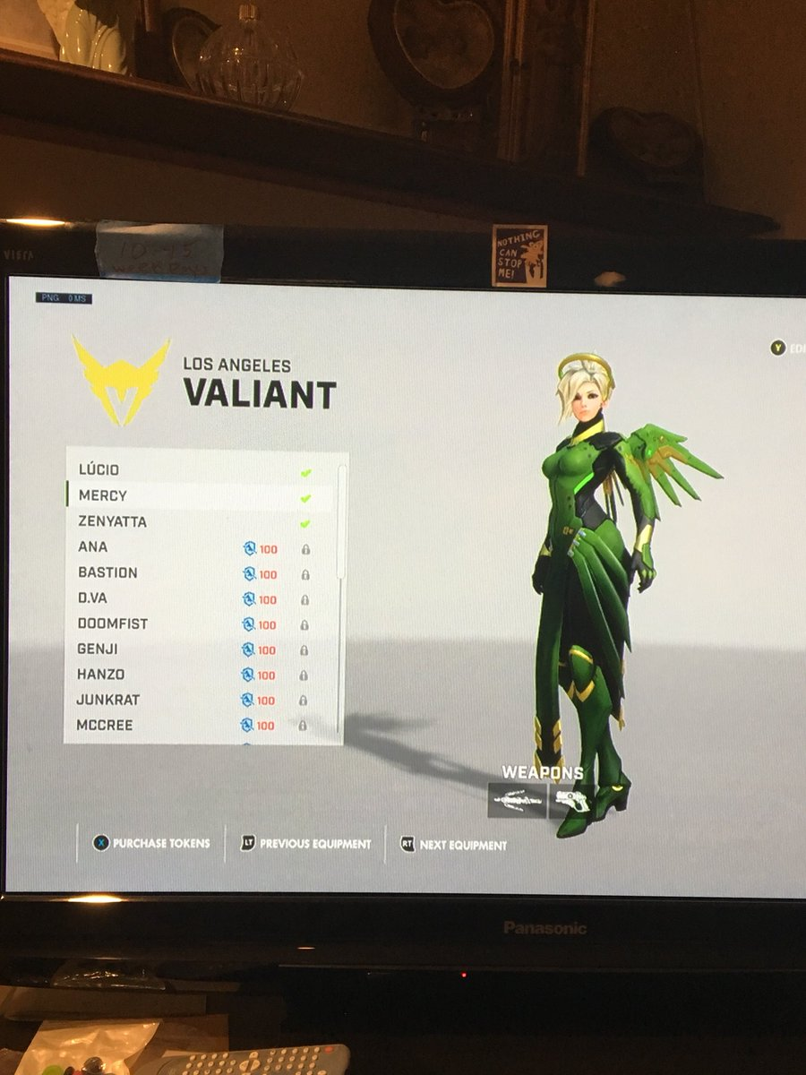 Can you tell what team i'm supporting? lol bought mercy, zenny, and lucio skins for my fave support bois, @VAL_uNKOE @Verbo and @KarivOW !!!! can't wait to see you guys do amazing this week, good luck!!! #OWL2018 #LAValiant #OverwatchLeague  #MostHandsomeSupportsConfirmed https://t.co/wqFTWFv6vD.