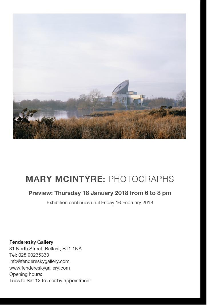 Mary McIntyre  Photographs opening tomor...