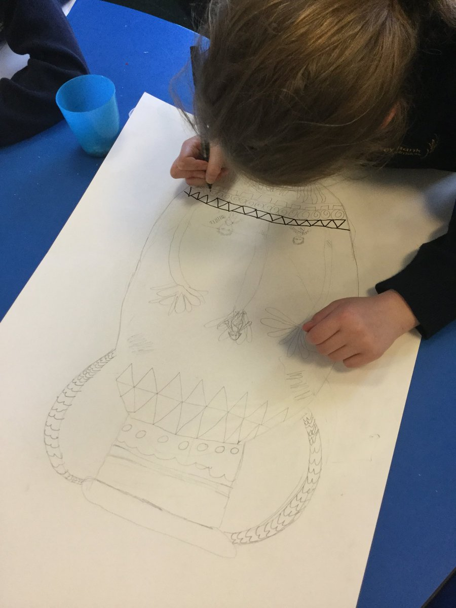 test Twitter Media - Some fabulous Greek pottery design this afternoon in Y4!! #gorseyart https://t.co/iIiHUR85Ly