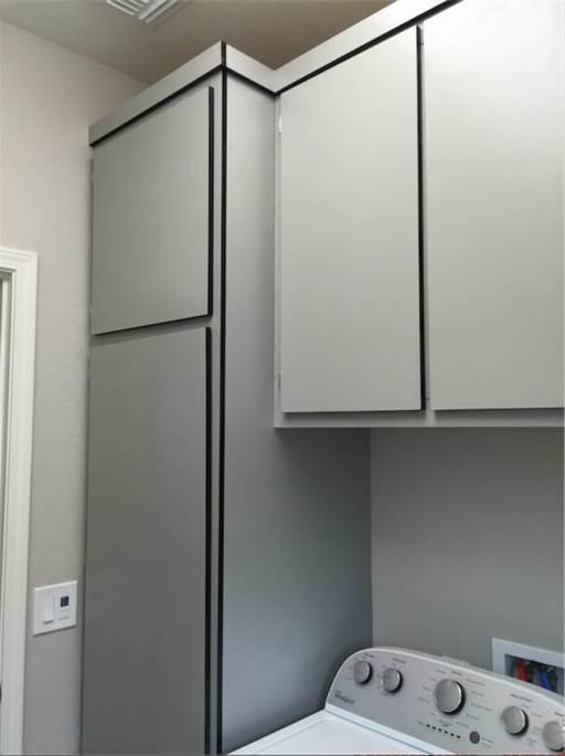 We Even Offer Color Upgrades On Laundry Room Cabinets. Create A Room You  Will Actually Want To Do Laundry In With Neilu0027s Garage Cabinets!