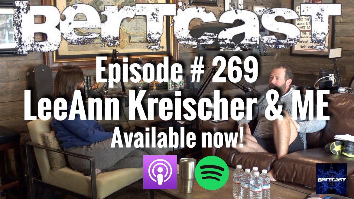 Bert Kreischer On Twitter New Podcast Is Up W My Wife We Talk About The Aziz Scandal Me Too Ari Shaffir Getting Kicked Off Twitter 269 Leeann Kreischer Leeann kemp kreischer is on facebook. bert kreischer on twitter new podcast