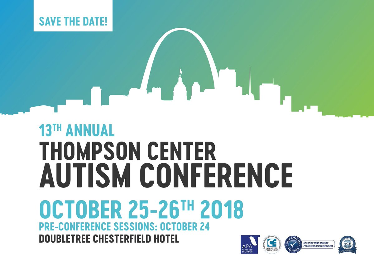 Autism Conference For Parents And >> Thompson Center On Twitter Save The Date The Midwest S Premier