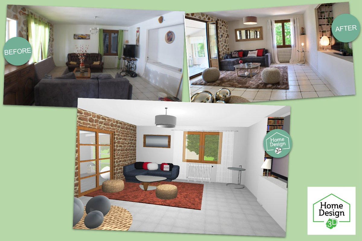 Home Design 3d On Twitter Before After Our 3 Tips To Refresh Your Homedecor Without Changing Everything Https T Co O49k0gij0n Beforeafter Interiordesign Homestaging Newyearnewlivingroom Decoration Home Cozyhouse Cozyhome Https T