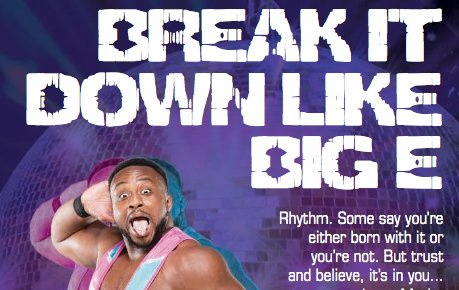A signed Book of Booty causes spontaneous hip swiveling. Luckily, this book has your step-by-step guide to the trademark @WWEBigE shimmy! Order now - wwe.me/LBfo6h
