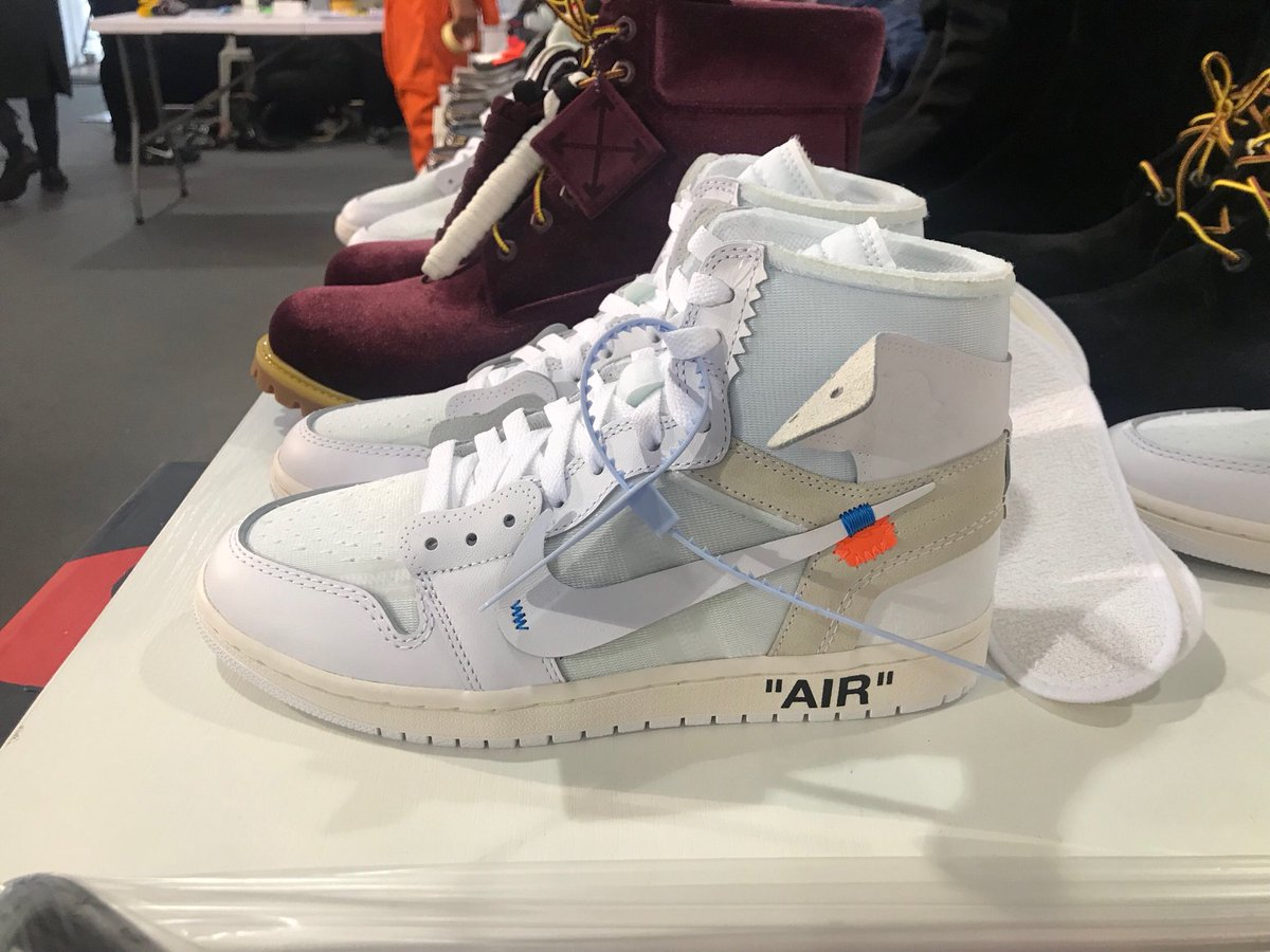 68bb09b1d8b6c4 ... Off-White x Air Jordan 1 Retro will release on February 27. Preview the  shoes in detail here  ...
