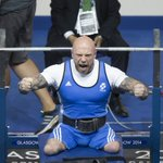 Powerlifter @MickyYule9 going for a second Games for Team Sco...