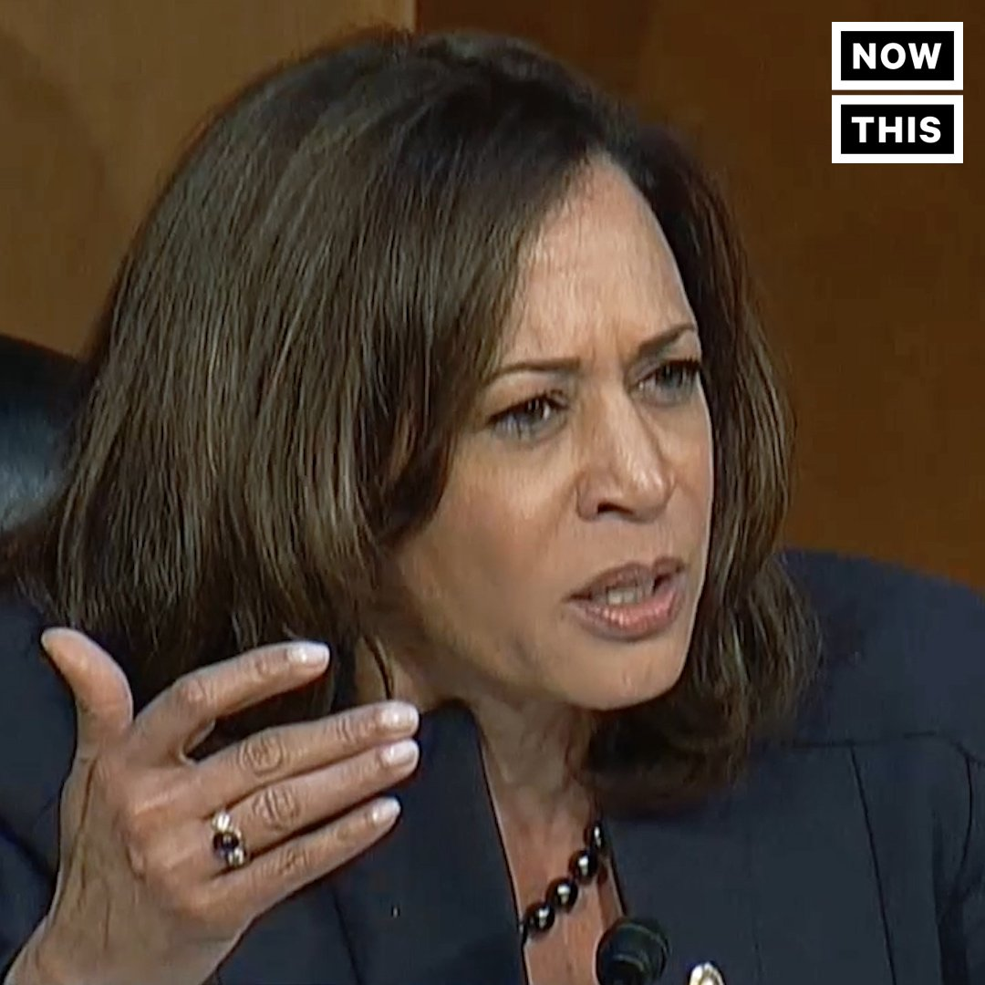 RT @amplifirenews_: Sen. Kamala Harris just torched Trump's DHS Secretary over her racist dogwhistling https://t.co/TuYIqxesXU