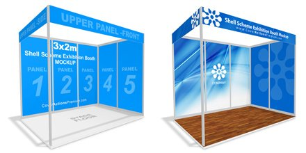 Exhibition Booth Psd : Booth vectors photos and psd files free download