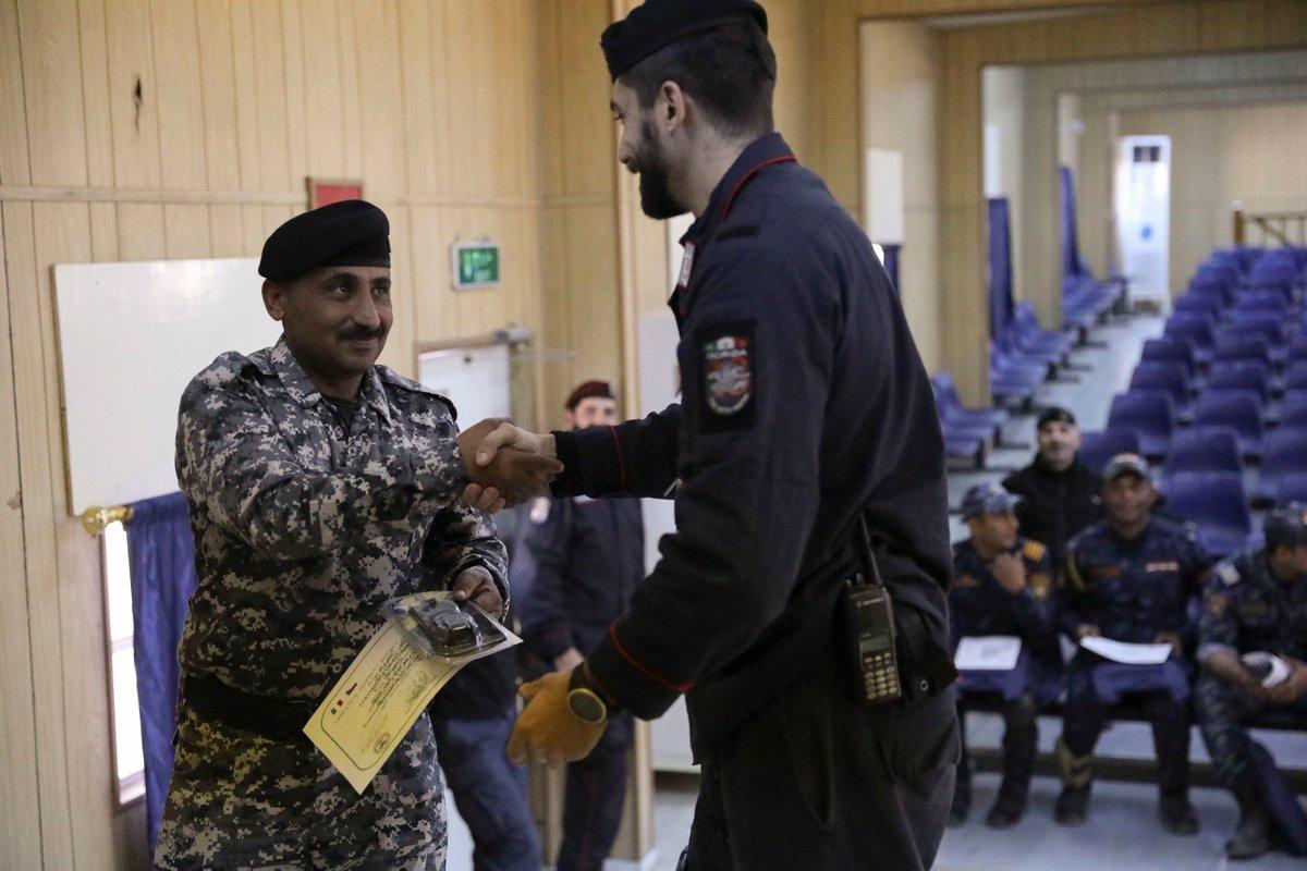 جهود التحالف الدولي لتدريب وتاهيل وحدات الجيش العراقي .......متجدد DTwfl8RW4AIrKRl