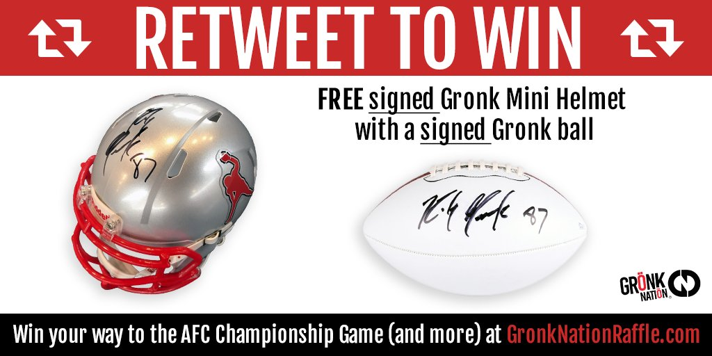 RETWEET this post to for your chance to WIN.  Winner will be picked Thursday at 12pm EST  To win tickets to the AFC Championship game this week and donate to Children's Hospitals check out:  https://t.co/kptIwmB9Oa.