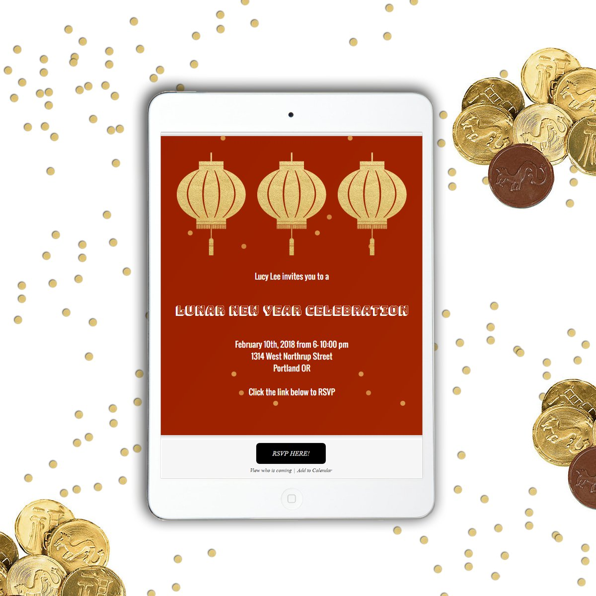 paint the town red with fantastic lunar new year invitations from sendo httpowlykn9k30hoq6k lunarnewyear yearofthedog invitations onlineinvites