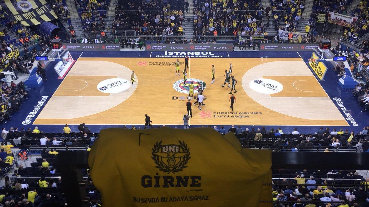 RT @GirneUNIGFB: Fenerbahçemiz-Panathinaikos Euroleague karşılaşmasında tribündeki yerimizi aldık. https://t.co/B5n472wK0o