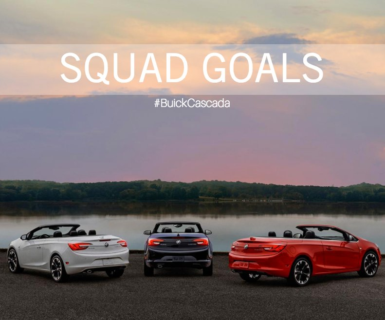 Spurr Dealerships On Twitter The Buick Cascada Is Waiting For You At Spurr Chevrolet Buick Gmc