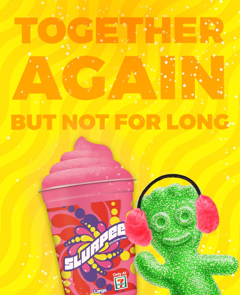 The whispers and rumors are true! The SPK Watermelon Slurpee is back at @7Eleven. Go. Now. Run!