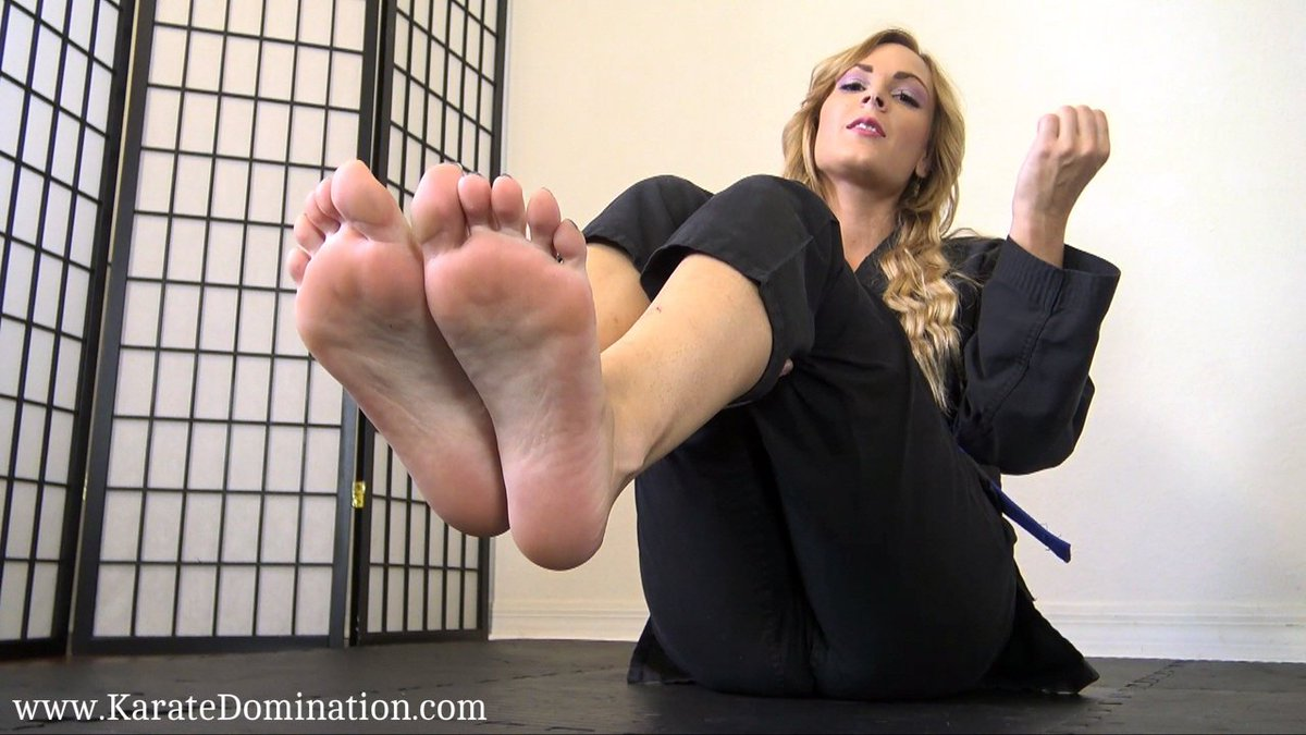 French girl foot domination